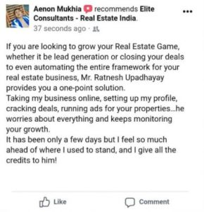 fb success review- Lisa real estate workshop