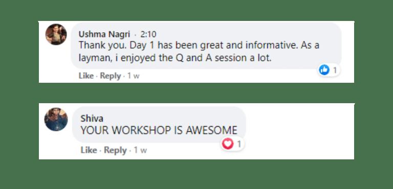 success review- Lisa real estate workshop